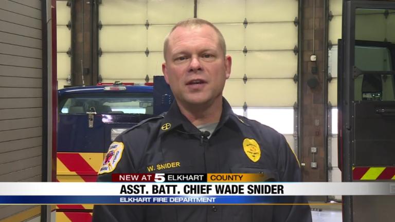 Elkhart Asst Battalion Chief Wade Snider Phoenix G2 dispatch alerting system