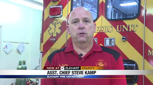 Assistant Fire Chief Steve Kamp