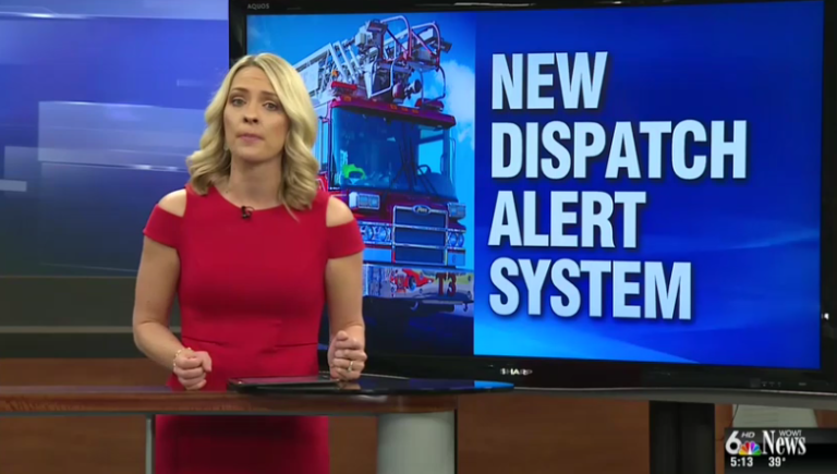 Omaha Fire Department insalls new dispatch alert system