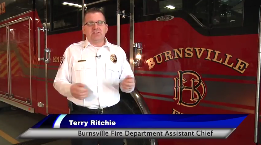 Assistant Chief Terry Ritchie, Burnsville Fire Department