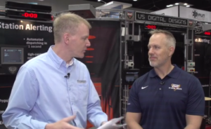Benefits of Fire Station Alerting - Interview at FDIC 2018 Dominic Magnoni and Chris McClune from Pennwell