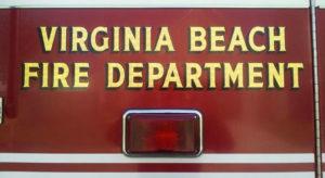 Virginia Beach Fire Department truck