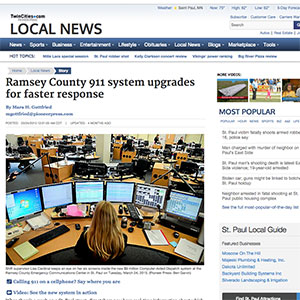 Ramsey County 911 ystem updates for faster response